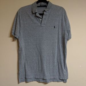 Polo Shirt Size Large Color Gray